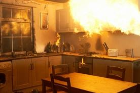 kitchen fire