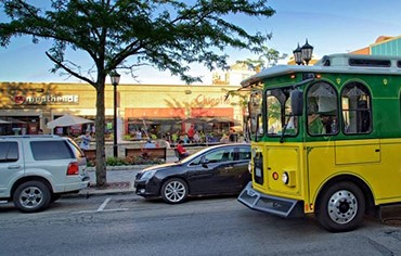 Explore Elmhurst Express Trolley