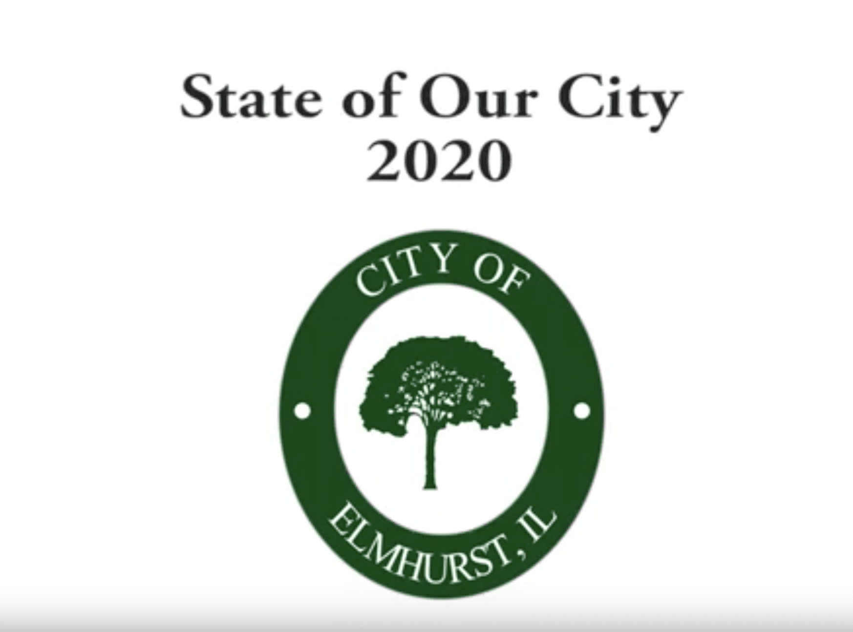 Mayor's 2020 State of Our City Address