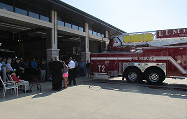 New Fire Truck Ceremony