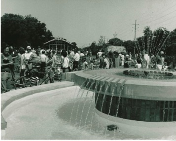 Bicentennial Fountain 1976
