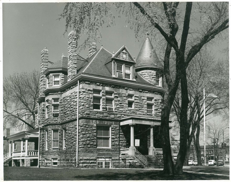 Glos Mansion c. 1964