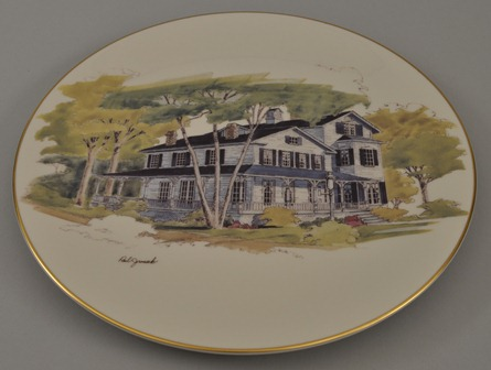 Cottage Hill plate