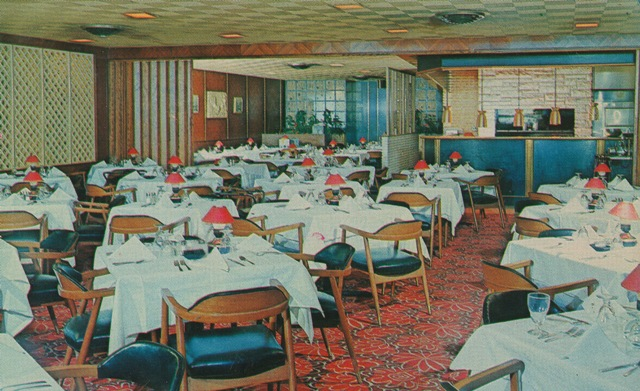 Stevens Steakhouse interior