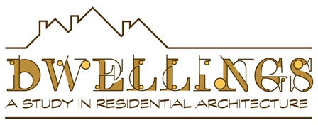Dwellings exhibit logo
